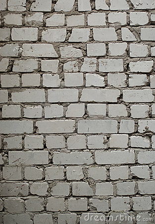 Pale gray brick wall texture