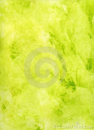 Pale Green and Yellow Watercolor Background