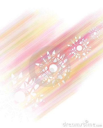 Pale pink flower fantasy