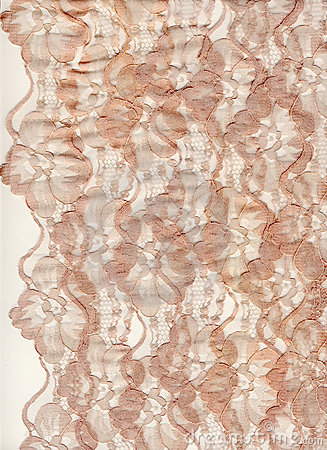 Pale pink lace border background