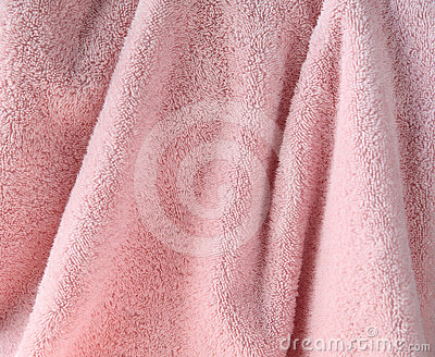 Pale pink towel background