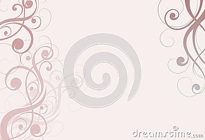 Pale pinky beige swirls background