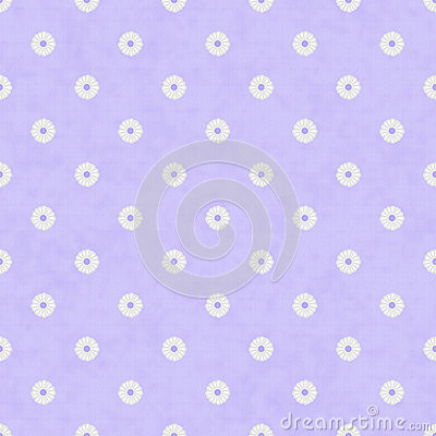 Pale Purple Fabric with Flowers Background