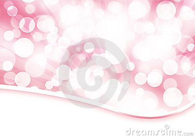 Pale rose bokeh abstract background