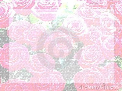 Pale rose letter paper