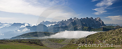 Pale San Martino At Morning Royalty Free Stock Photos - Image: 11665258