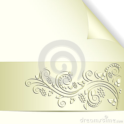 Pale yellow background