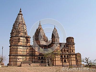 Paleis in Orcha, Madhya Pradesh