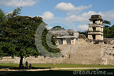 Palenque Stock Photography - Image: 10202042