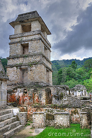Palenque Ancient Maya Ruins, Mexico