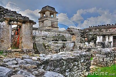 Palenque Ancient Maya Ruins, Mexico