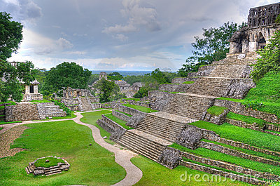 Palenque Ancient Maya Temples, Mexico