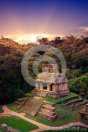 Free Palenque, Maya City In Chiapas, Mexico Royalty Free Stock Images - 49929439