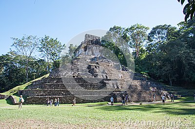 Palenque, Mexico Editorial Stock Photo