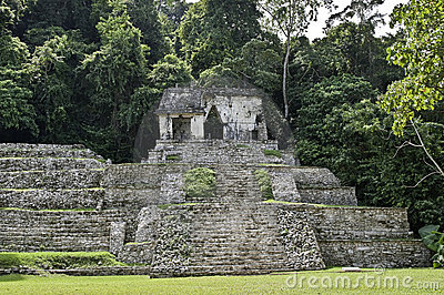 Palenque - temple calavera