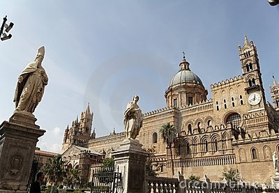 Palermo Cathedral and Bishop
