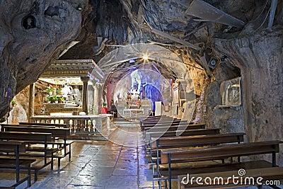 Palermo - Cave of Santuario di Santa Rosalia.