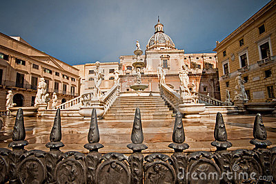 Palermo fountain of shame