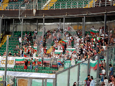 Palermo, Italy - September 06, 2013 - Italy vs Bulgaria - FIFA 2014 World Cup Qualifier Editorial Stock Photo