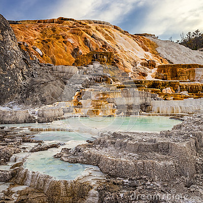 Free Palette Spring In Yellowstone Stock Photos - 34476413