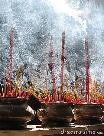 Palillos del rezo, Ho Chi Minh, Vietnam