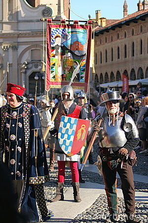 Palio of Vigevano Italy Editorial Photography