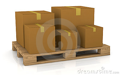 Pallet and carton box