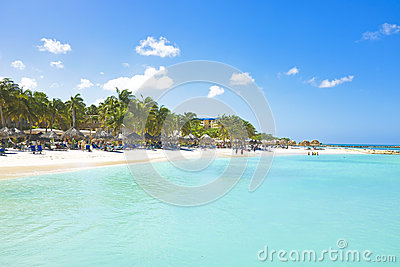 Palm Beach at Aruba