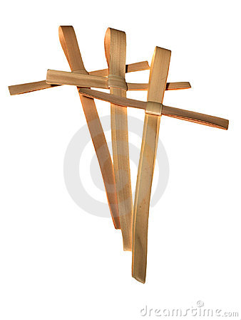 Free Palm Crosses Royalty Free Stock Photos - 4741928
