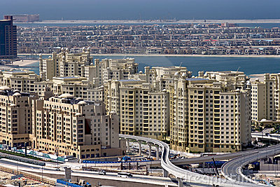 Palm Dubai, Under construction