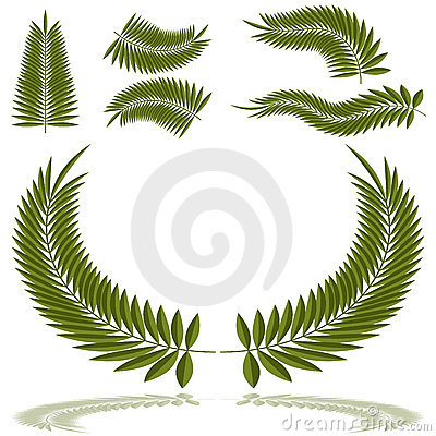 Palm Frond Set