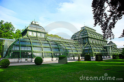 Palm house,Vienna, Austria