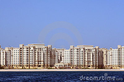 The Palm Jumeirah, Shoreline apartments