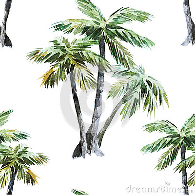 Free Palm Pattern Royalty Free Stock Photography - 50515517