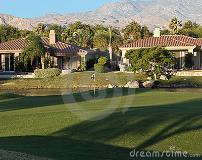Palm Springs golf course homes