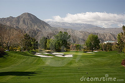 Palm Springs golf course par 3