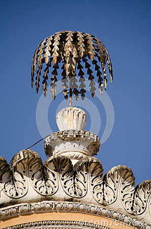 Palm Tree ornament, Chowmahalla Palace
