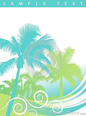 Free Palm Trees Background Stock Photo - 10178710