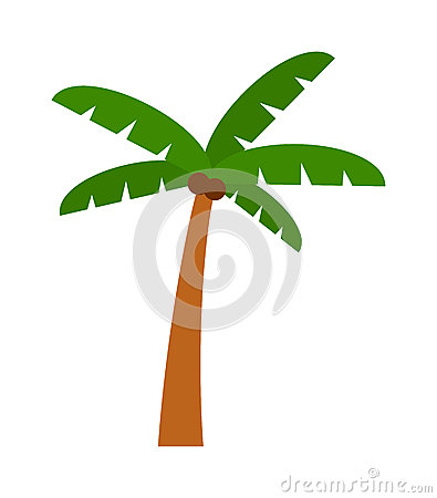 Free Palm  Vector. Royalty Free Stock Photo - 71416635