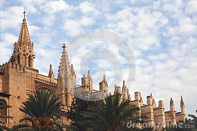 Palma Cathedral Stock Image - Image: 15322451