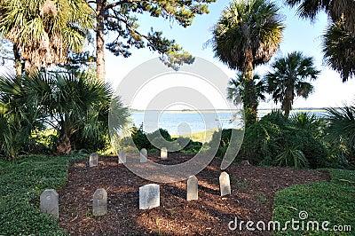 Palmetto Bluff graveyard