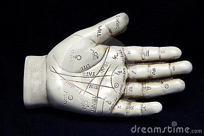 Palmistry Sculpture