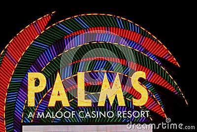 Palms Casino Resort Las Vegas Editorial Stock Photo