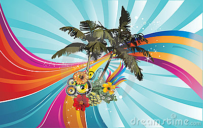 Palms  illustration