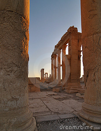 Free Palmyra Ruins In Syria Stock Images - 13221794