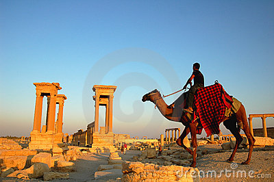 Palmyra Syria Editorial Stock Photo