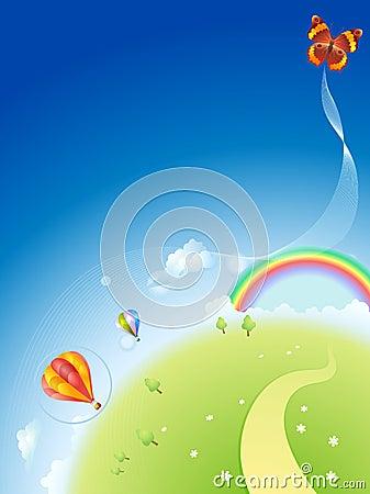 Free Palnet-summer Royalty Free Stock Image - 10463226