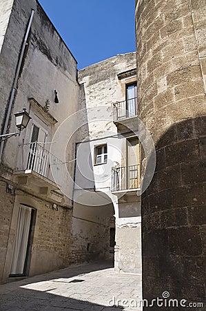Palo del Colle Oldtown. Apulia.