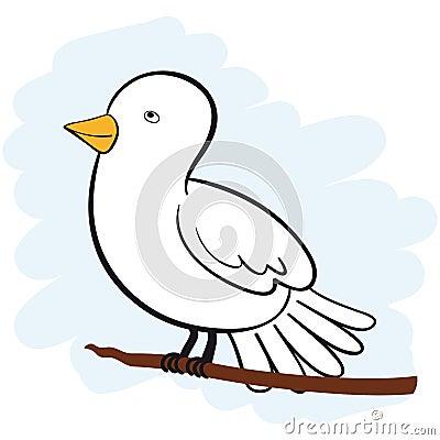 Paloma del blanco