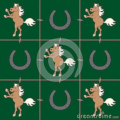 Palomino Horse pattern